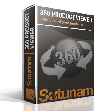 Extension vue 360 produit avec zoom pour Magento