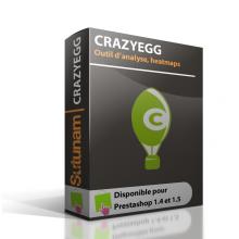 CrazyEgg - Module Prestashop
