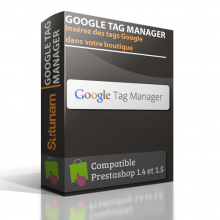 Google Tag Manager - Prestashop
