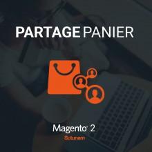 Extension de partage de panier pour Magento 2